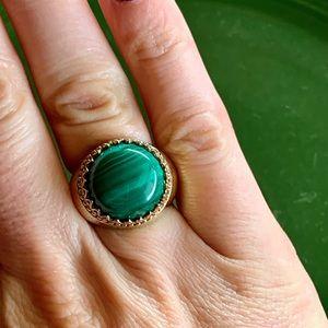 PJM Malachite dome ring